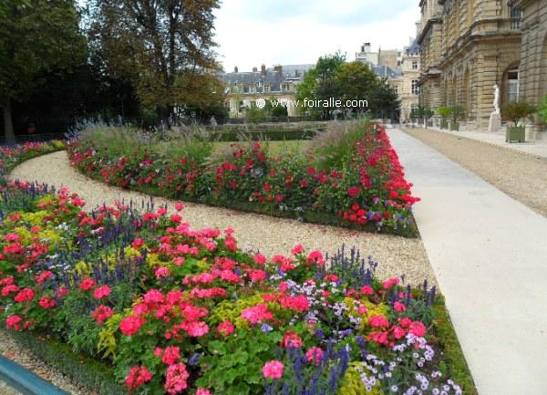 Paris en automne au jardin de luxembourg palais boulevard for Au jardin du port le palais