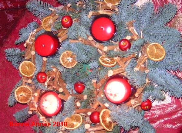 Noël Tradition Couronne de lAvent- Advent Kranz, Décorations sapins ...