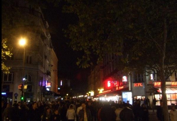 Paris nuit blanche illumination nocturne panorama les sites mairie de