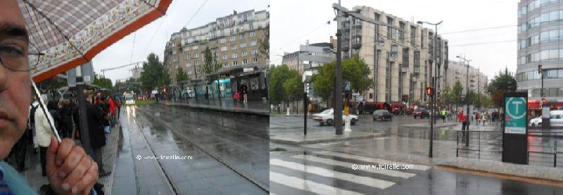 Paris transport urbain tramawy parc des exposition porte - Porte d italie metro ...