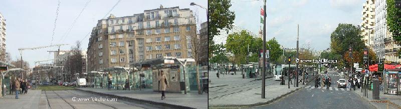 Paris transport urbain tramawy parc des exposition porte - Parc des expositions de la porte de versailles ...