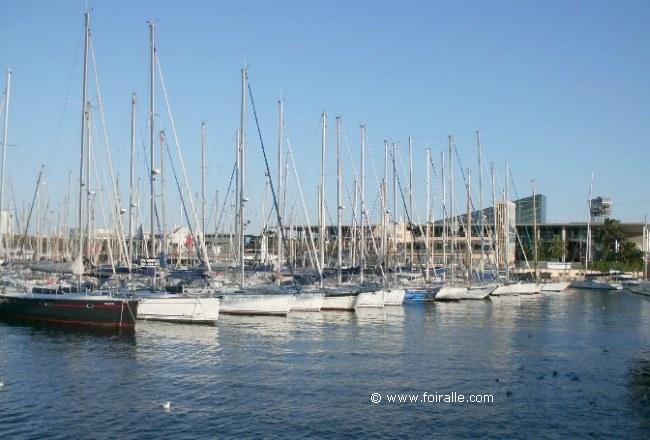 Impressions port vell de barcelona flair maritime yachts de luxe et des voiliers bateaux - Port de plaisance barcelone ...